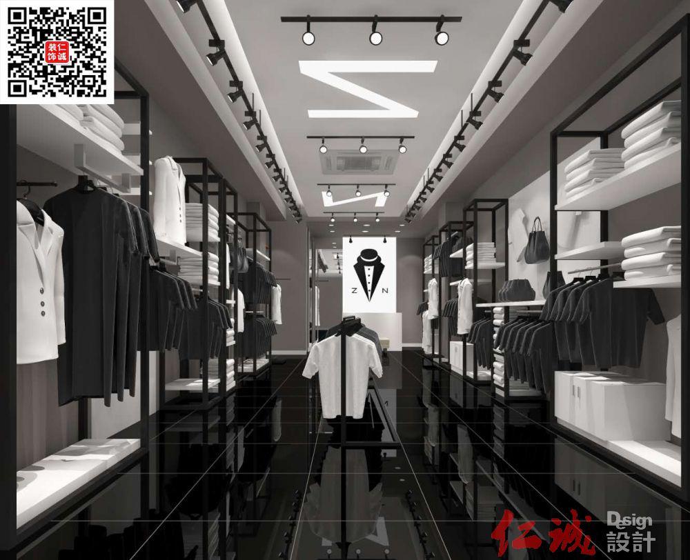 深圳装修案例服装店