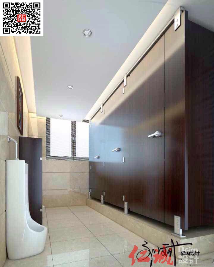 深圳写字楼卫生间设计装修效果图