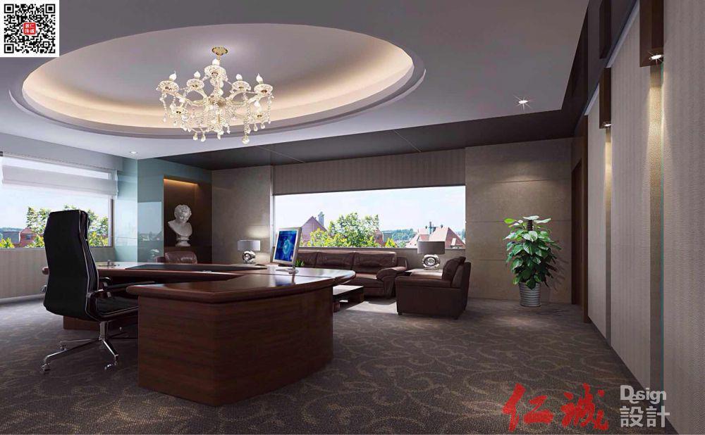 深圳总裁办公室装修效果图