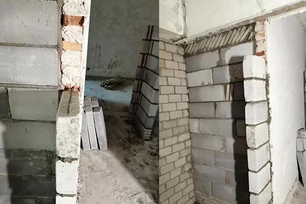 深圳旧房改造拆改墙体