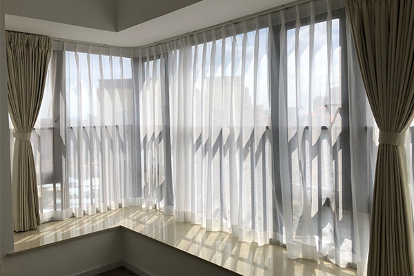 深圳装修房子如何选择软装窗帘