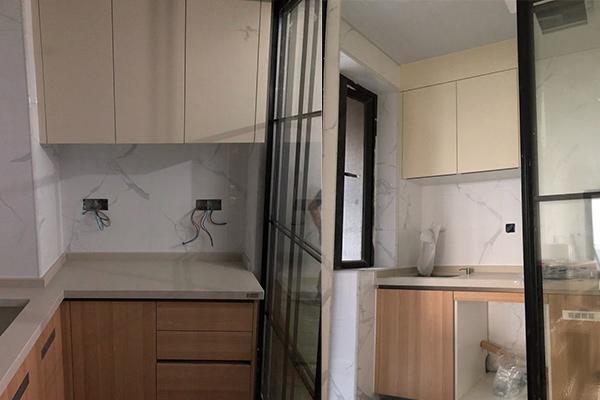 深圳厨房装修橱柜安装