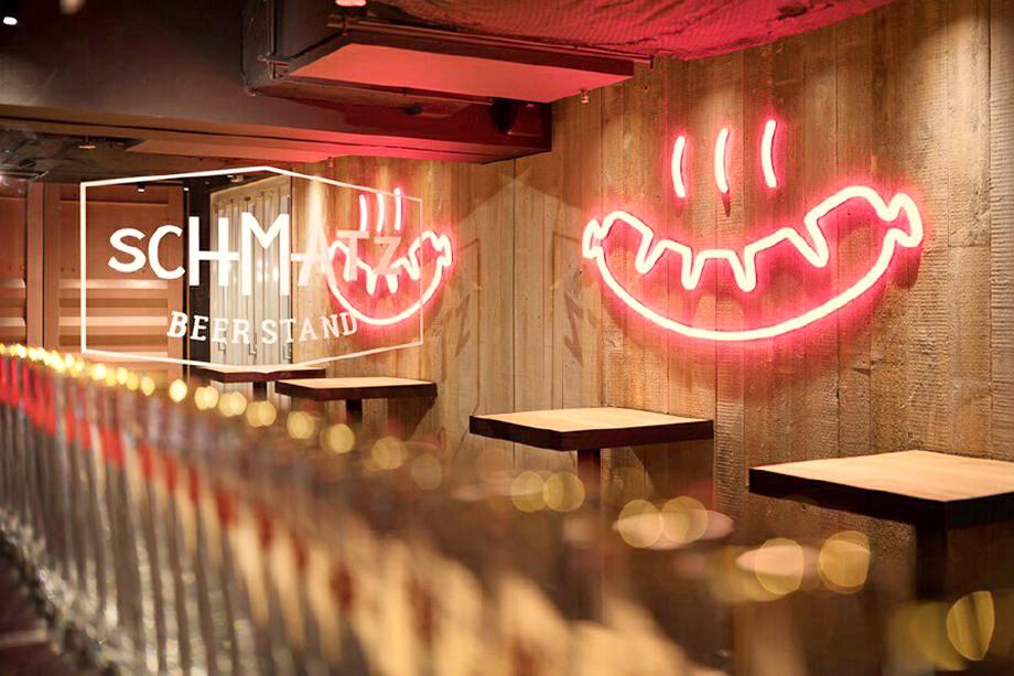 集装箱改造的酒吧