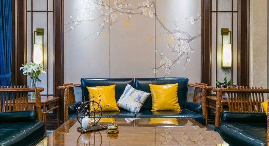 云锦世家洋房135平新中式风格