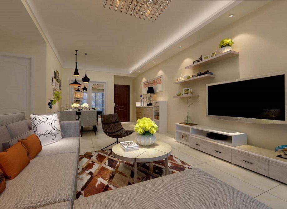 客厅电视背景墙选什么颜色好?来看看选择搭配技巧!