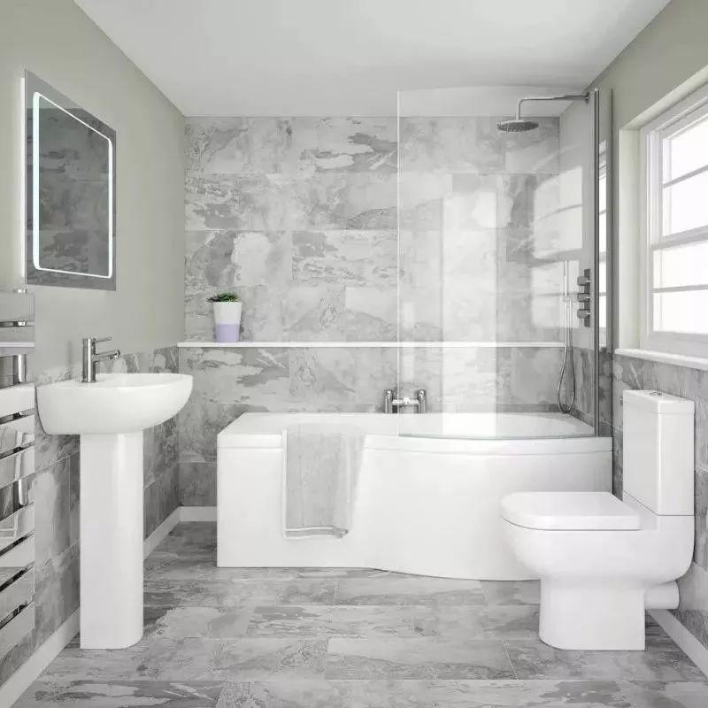 卫浴装修10个设计思路,让你家的卫浴间变得更舒适