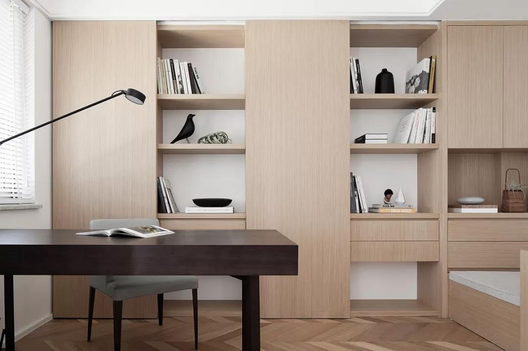 大誠金廷138方極簡風,最大亮點是隱形門的設計