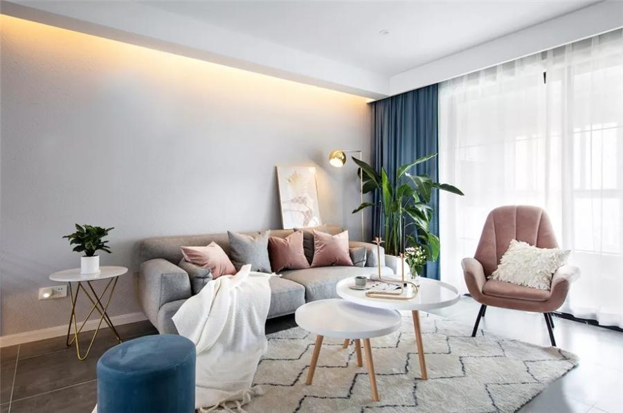 <广信万汇城小区>清新北欧3室2厅,轻松而美好的舒适生活