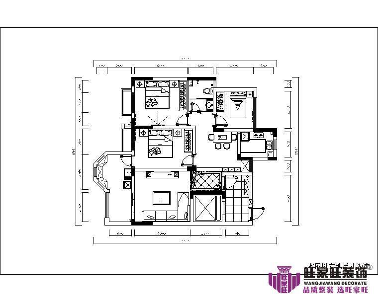 澳门装潢案例红谷新城简欧性状style套房