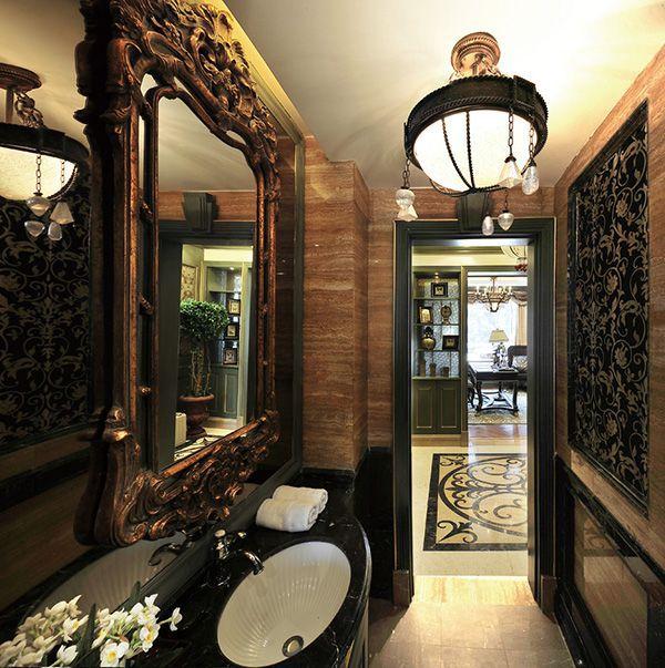 九龙湖花园美式复式楼策划实景案例成果图