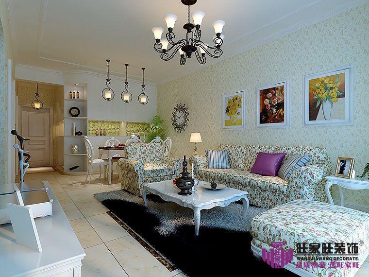 小户型客厅的窗帘怎么搭配