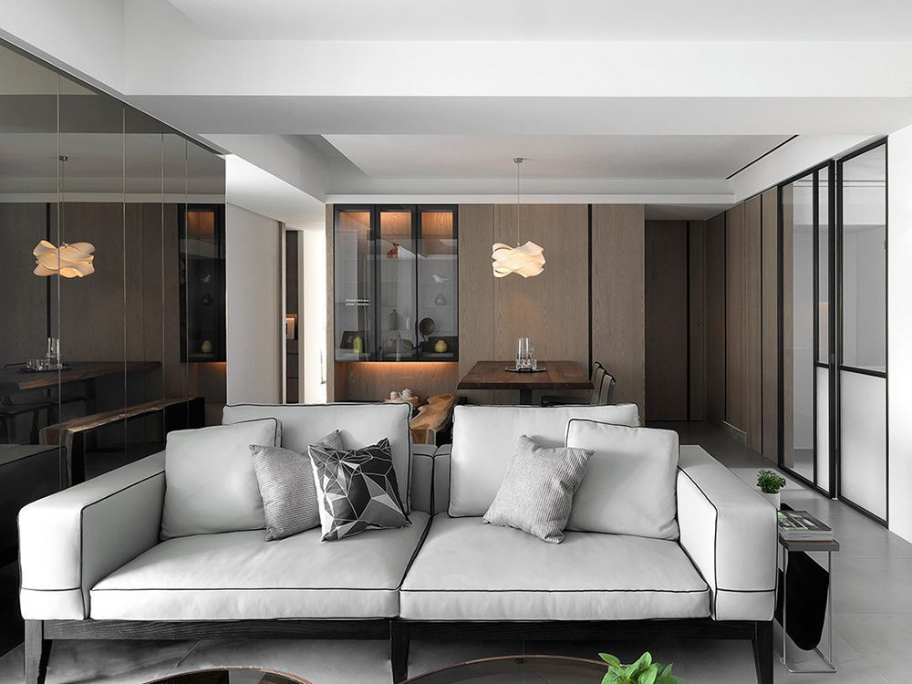 买了横厅户型房子沙发要怎么摆