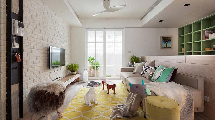 小户型新房减法装潢策划解析