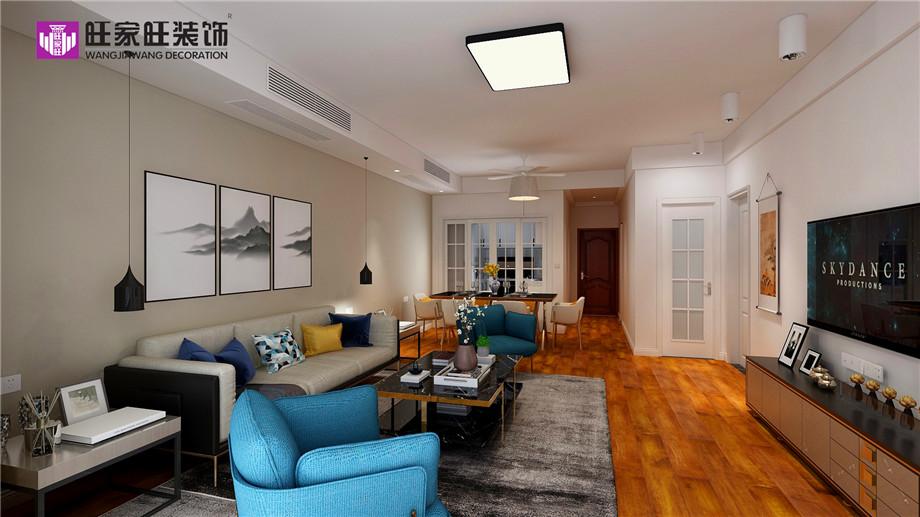 电视墙与沙发墙这样搭配 会让客厅更美