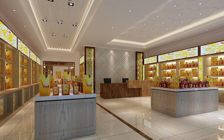 南昌装修设计师世纪中央城后街益生缘蜂蜜简约风格商铺