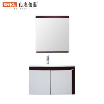 南昌心海伽蓝浴室柜XC006-75 适用单孔龙头