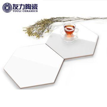南昌 友力陶瓷 六邊形黑白系 MF1L2600 (白色)
