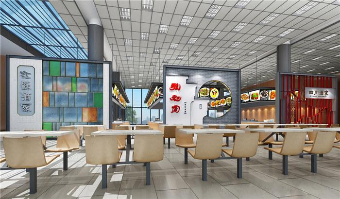 凉山西昌餐饮店装修设计