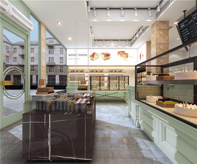 西昌面包店烘焙店设计
