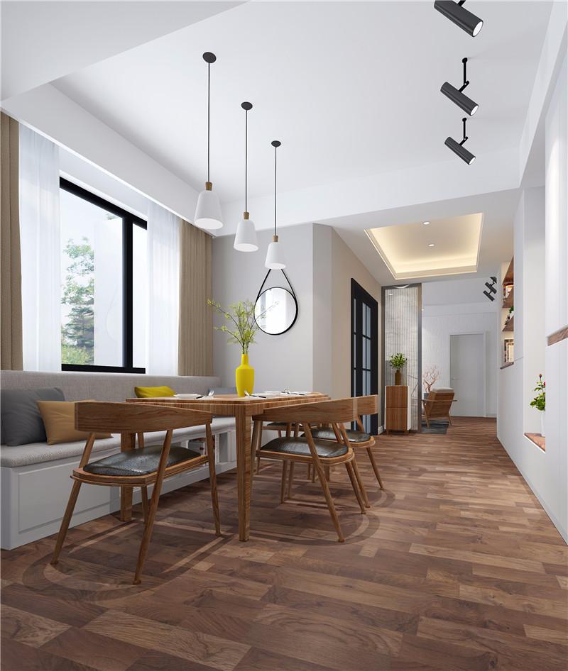 70平米装修效果图_2020最新小户型二居室图片大全