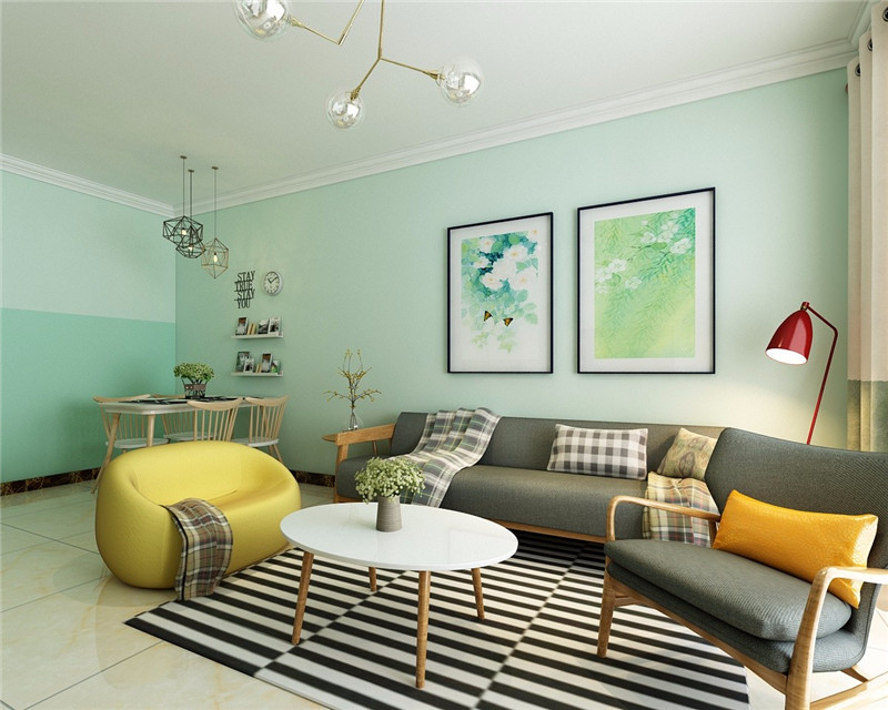 70平米小户型装修效果图_二居室房屋装修设计