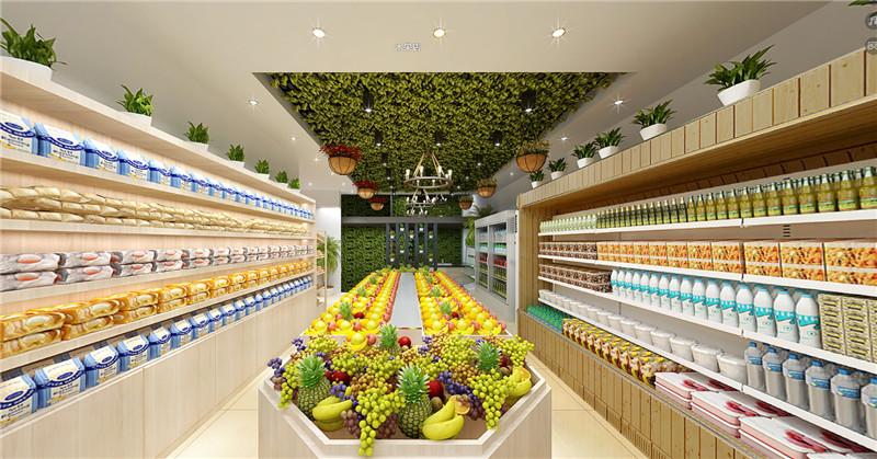 水果店装修效果图,2020最新水果店装修图片