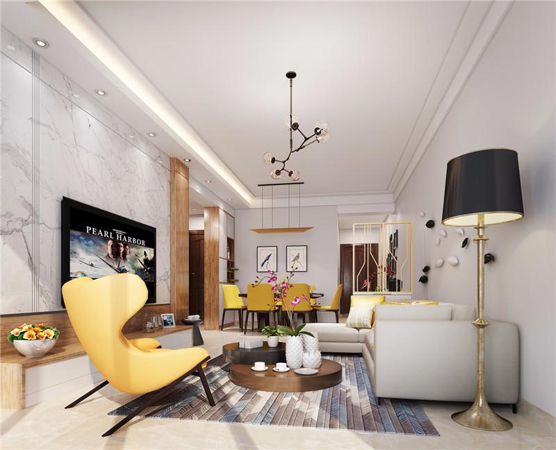 70平方2室一厅装修