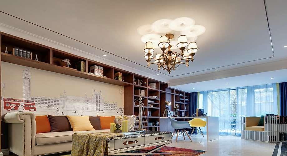 150㎡現代三居室
