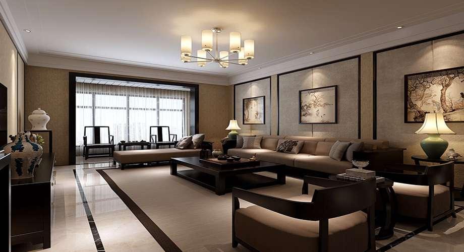 143㎡新中式三居室