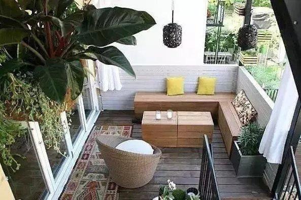 【幸福树装饰】阳台怎么装最好