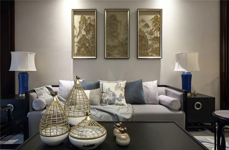 126㎡新中式,有禅意、有质感,更符合现代人审美!