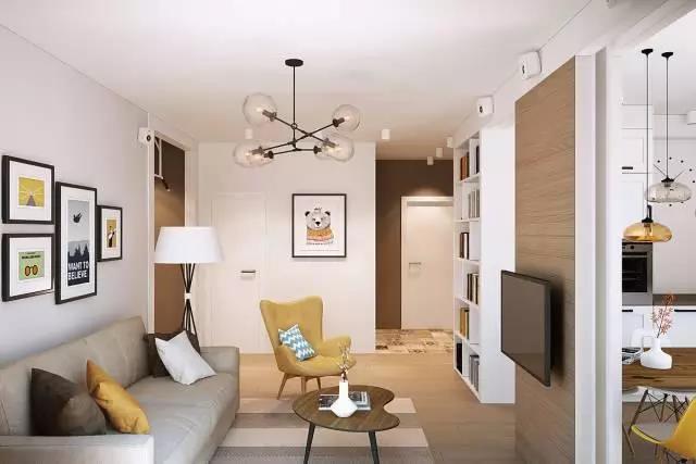 65㎡公寓,储物空间最大化、干湿区完全分离!