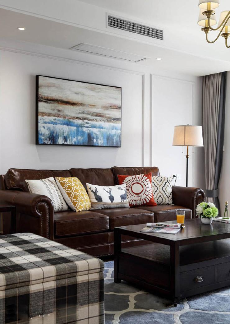 【140平美式四居室】家不需要惊艳与华丽,在满足实用的情况下舒适温暖足矣
