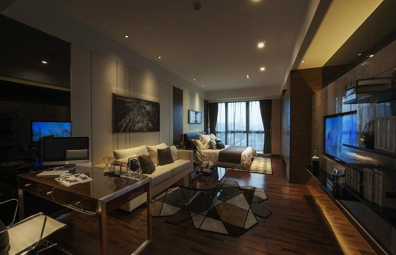 酒店式小公寓现代简约风