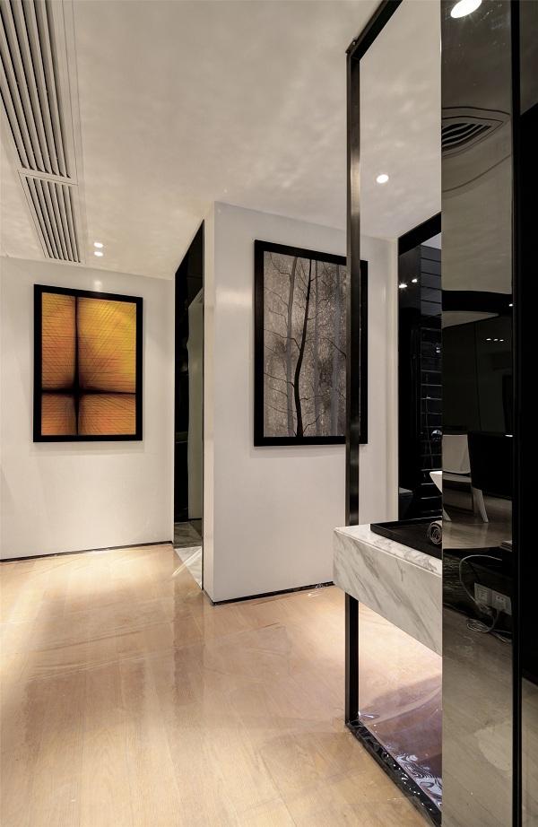 现代简约二居室