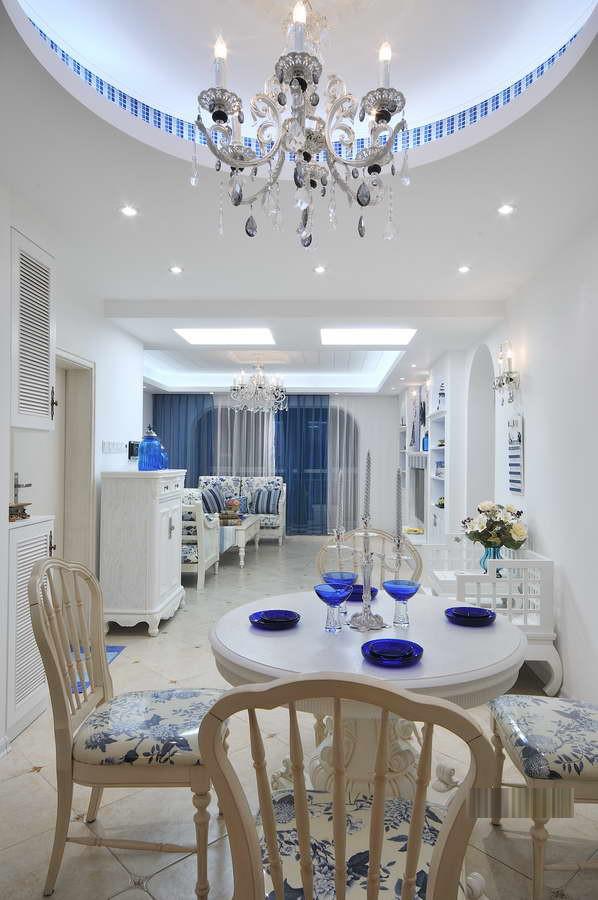 陕西西安装修案例地中海三居室