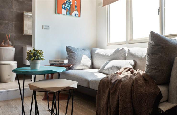 陕西西安装修案例30平小户型一居室