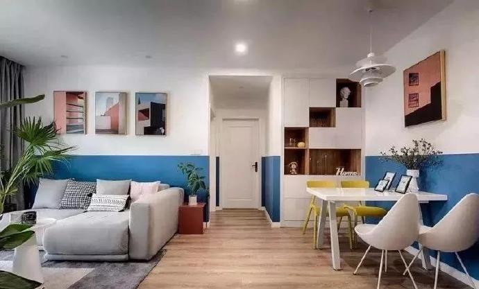 陕西西安装修案例全屋半墙设计,告别大白墙如此简单!