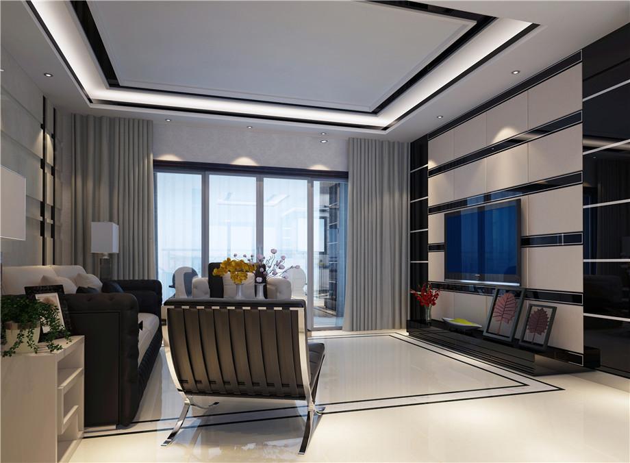 温馨小居室现代风格家装案例