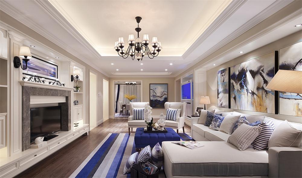 【輕舟裝飾】美式家裝優秀案例