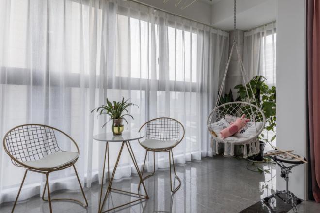 【輕舟裝飾】現代風格三居室裝修案例