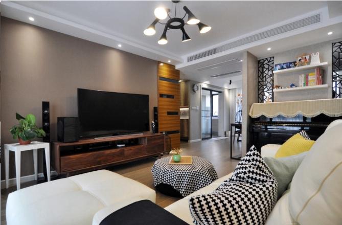 【轻舟装饰】北欧风格两居室家装案例赏析