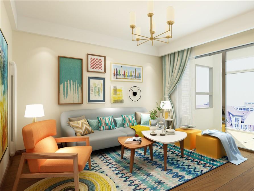 【轻舟装饰】现代简约家装风格 三居室装修案例效果图