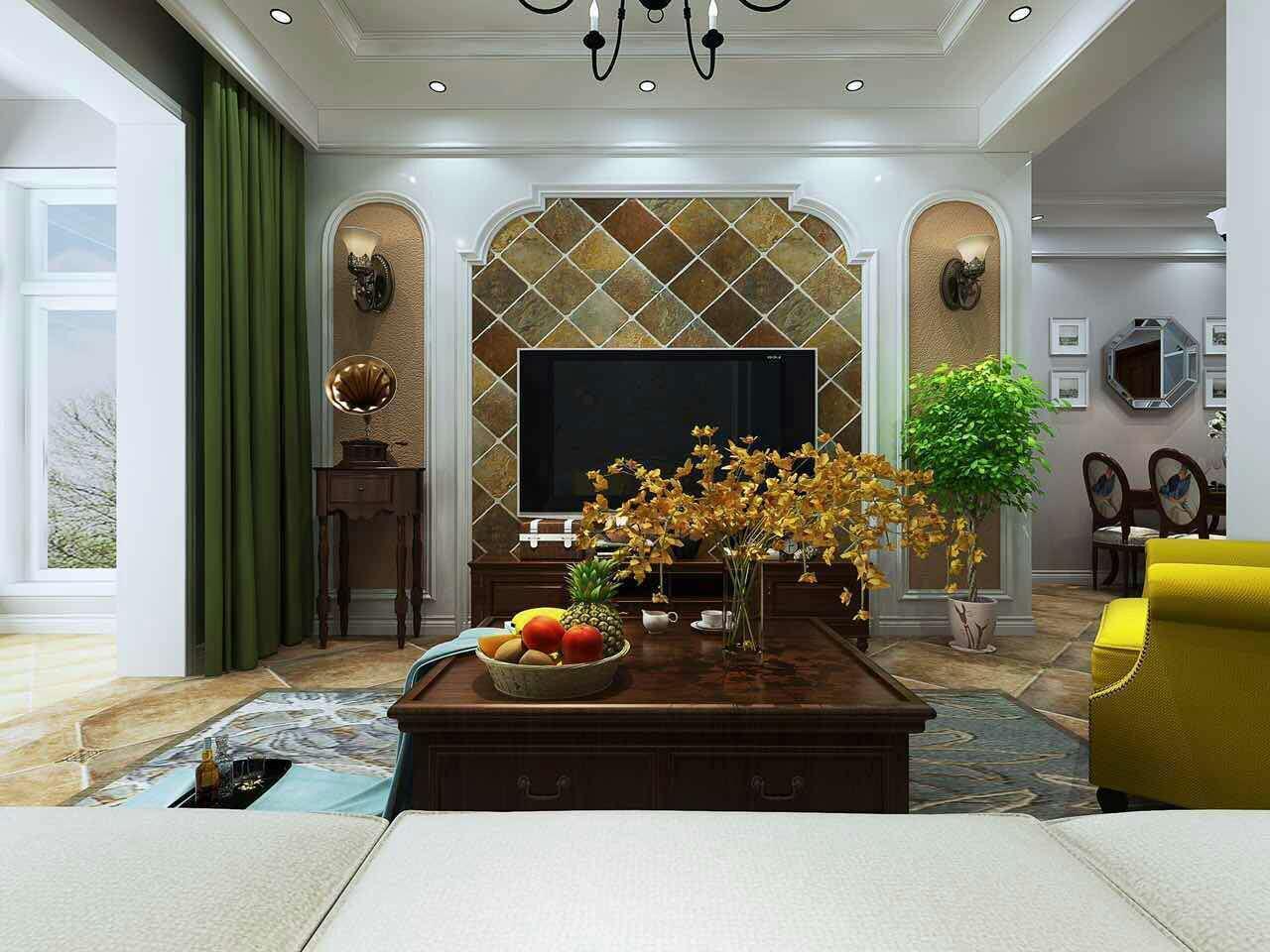 【轻舟装饰】简欧风格案例 三居室装修案例效果图