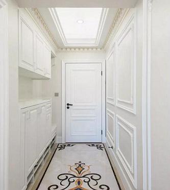 乌鲁木齐装修案例300平法式轻奢风格别墅装修效果图 温馨高级