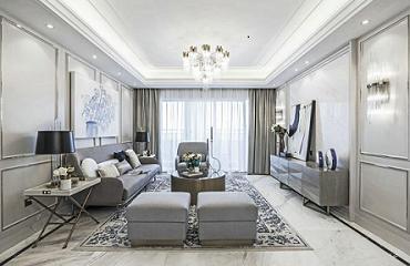 烏魯木齊裝修案例室內設計:法式輕奢,一席流動的盛宴 | 法式風風格