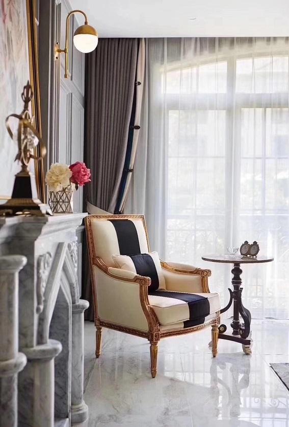 轻奢法式风,进门即感高贵优雅,动线设计完美,值得借鉴参考!
