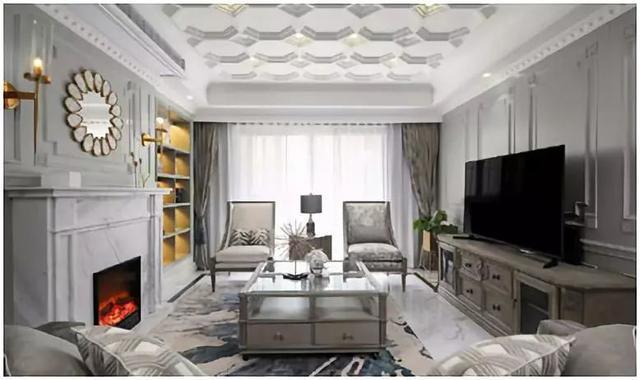 乌鲁木齐装修案例法式风格装修的家,让你每天都处在优雅浪漫之中