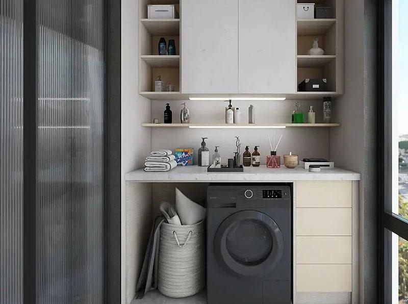 想在陽臺裝洗衣機,這些尺寸要牢記