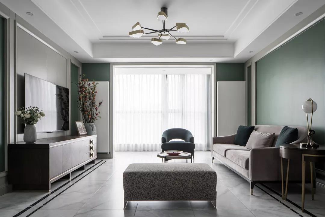 陶菊园120㎡现代美式